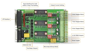 TB6560 JP3163B Board PCB Connectors
