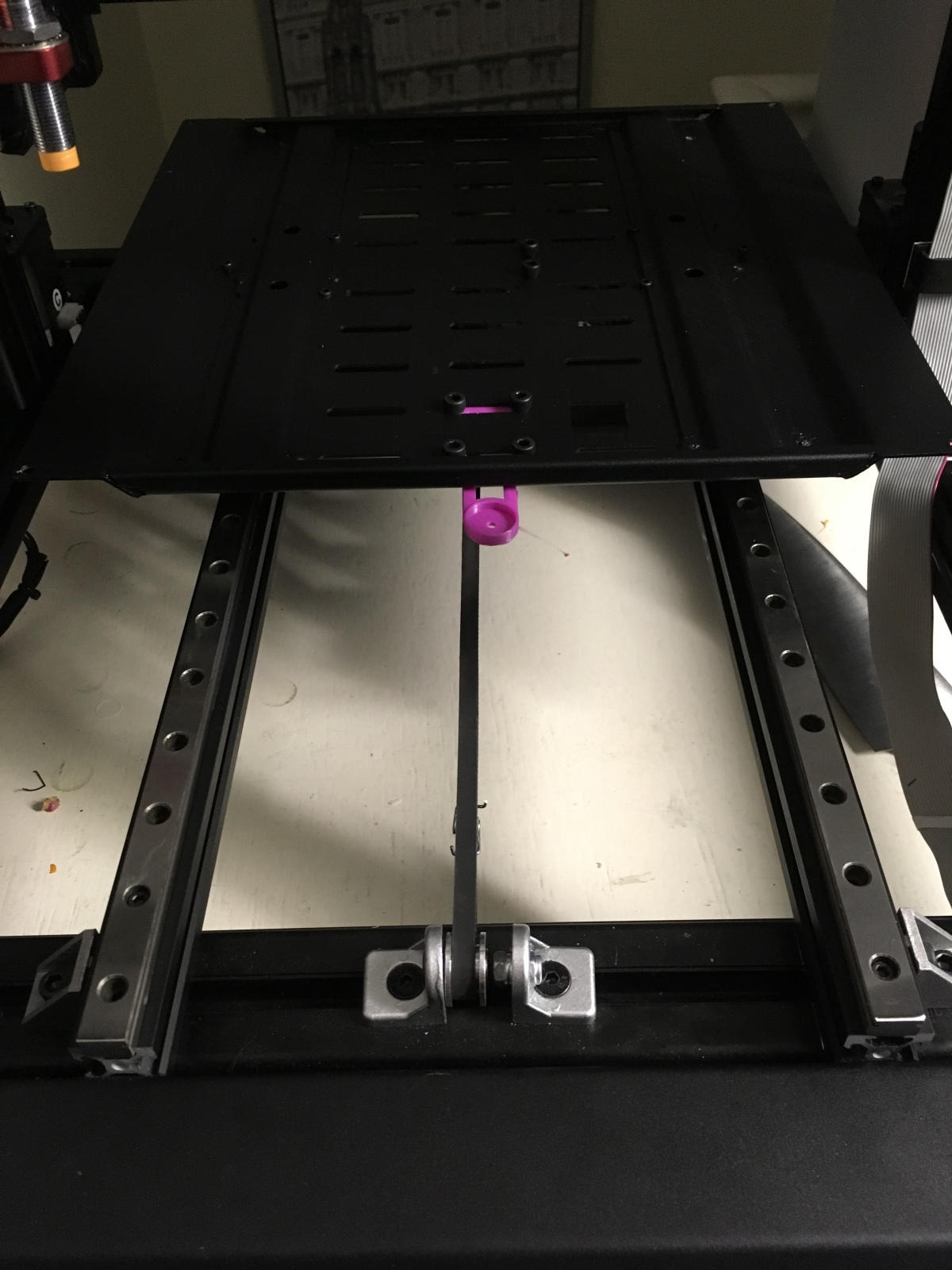 MGN12 rails update – Fitted and The printermoves!