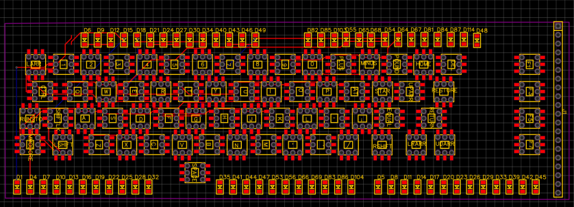 C64 PCB Matrix - SMT BAD VERSION