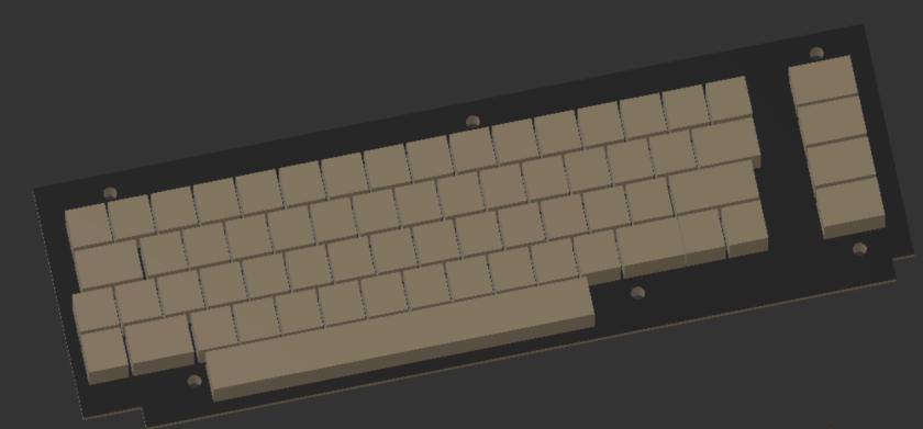 Keyboard Render - First Version