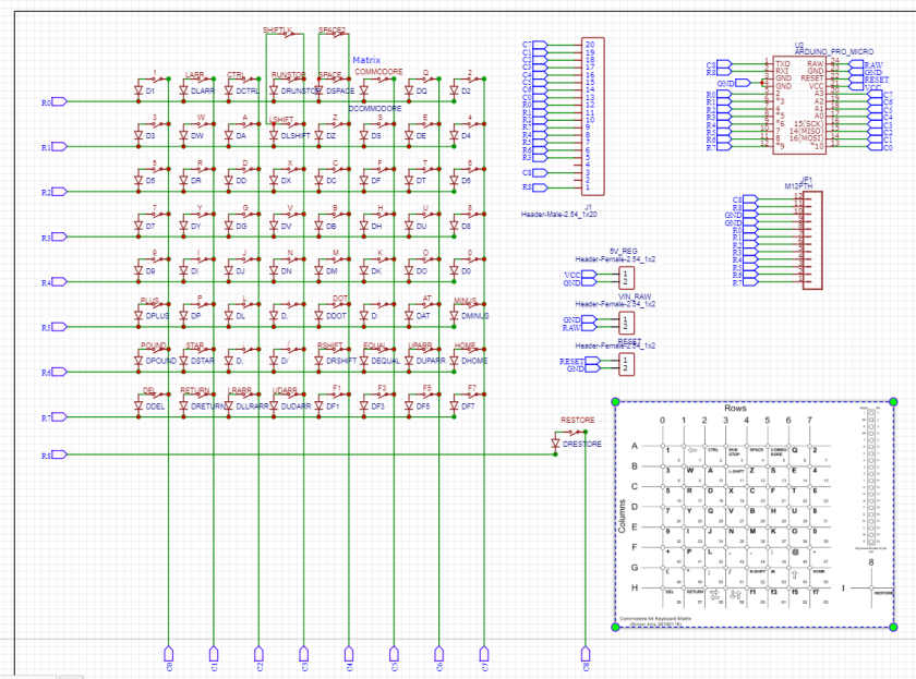 schematic c64mini