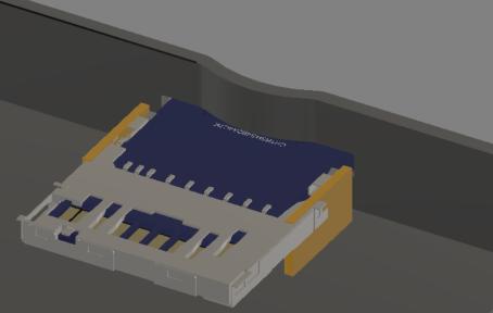 specnext PCB PUSH PUSH 3